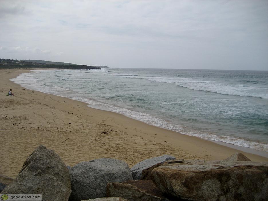 Narooma Australia  city pictures gallery : Narooma Long sandy beach in Narooma