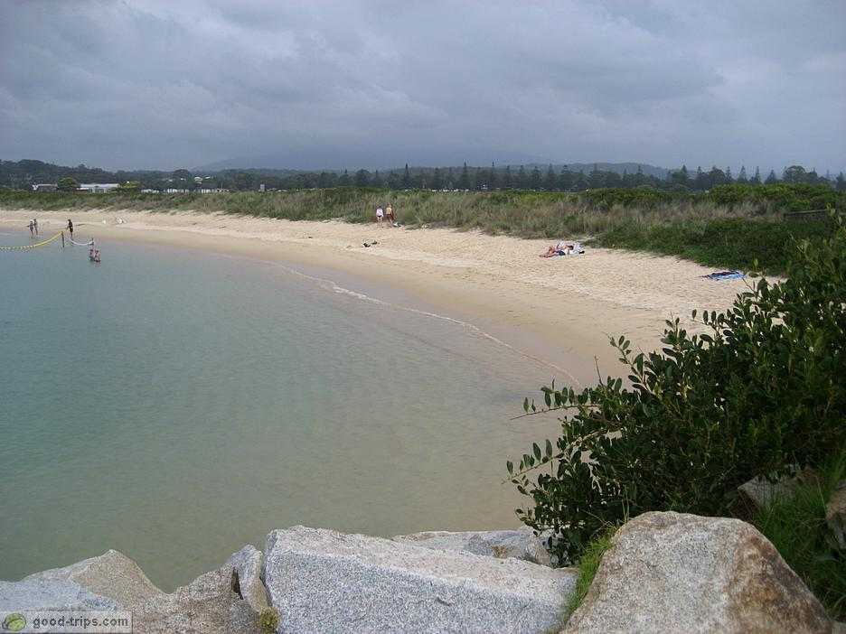 Narooma Australia  city photos gallery : Narooma Nice beach in Narooma