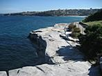 Sydney - Bondi Beach - Walking path along the rocks