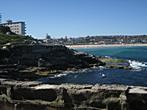 Sydney - Bondi Beach - View of the Bondi Beach from walking path