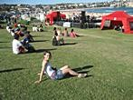 Sydney - Bondi Beach - Concert party at Bondi Beach