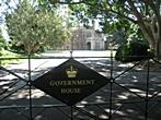 Sydney - Governement House - Entrance into Governement House area