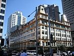 Sydney - Hyde Park - Crossing of Liverpool and Elizabeth Street near Hyde Park in Sydney