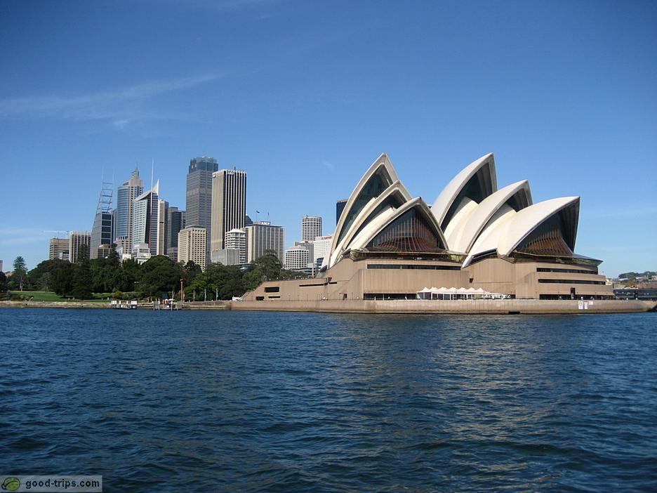 Sydney sydney opera house good trips for Sydney opera housse