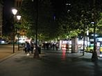 Melbourne - Street at night