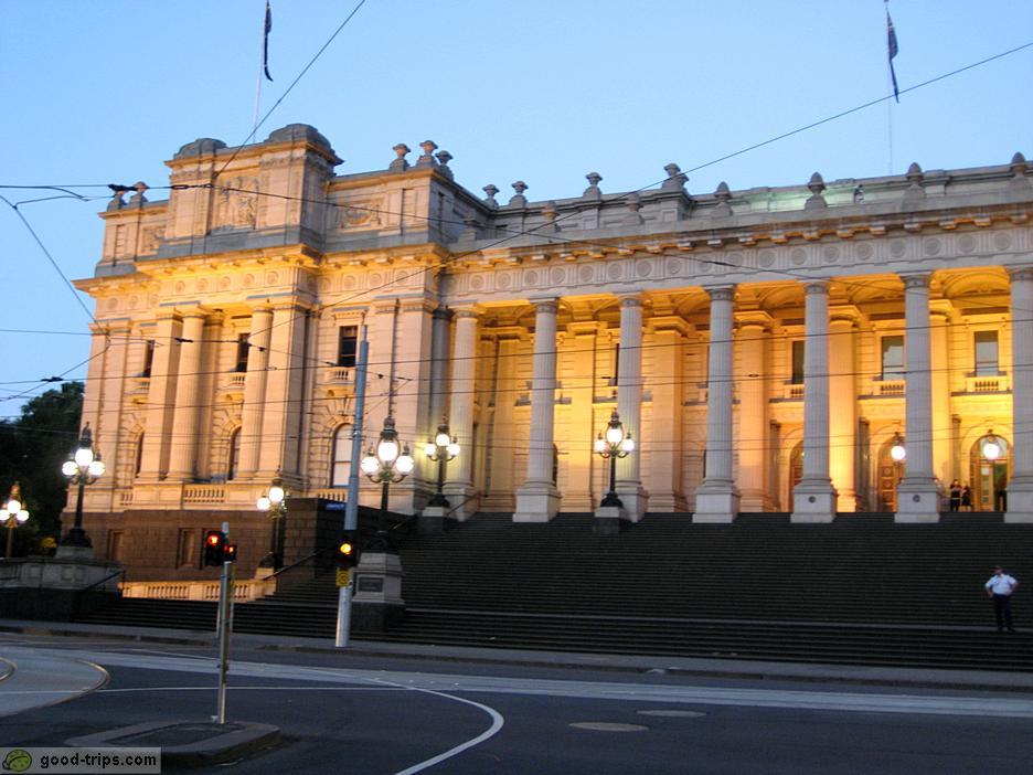 Melbourne - Parliament House