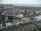 Rialto Towers - Melbourne Observation Deck - Yarra River, Port Phillip Bay