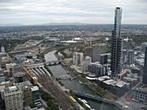 Rialto Towers - Melbourne Observation Deck - Flinders St Station, Yarra River, Eureka Tower, Melbourne Park