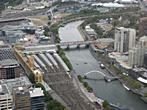 Rialto Towers - Melbourne Observation Deck - Flinders St Station, Yarra River