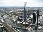 Melbourne - Rialto Towers - Melbourne Observation Deck - Yarra River, Eureka Tower, Melbourne Park, Royal Botanic Gardens
