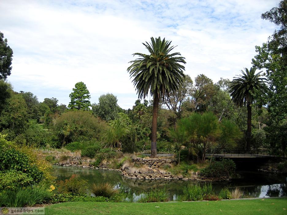 how to go to botanic garden melbiurne