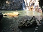 Koh Samui - Na Muang 1 Waterfall - Refreshing swimming below waterfall